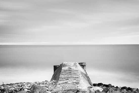 A Short Pier by PaulBradley