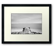 A Short Pier Framed Print