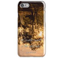 A creative adult is the child who survived  iPhone Case/Skin