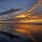 Moody Island Sunset by TomRaven