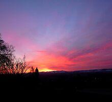 Red Sky in the Morning, Shepherds' Warning by Braedene