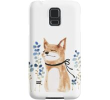 Fox and Flower Samsung Galaxy Case/Skin