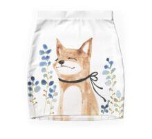 Fox and Flower Pencil Skirt