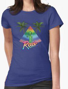 Rad Alien T-Shirt Womens Fitted T-Shirt