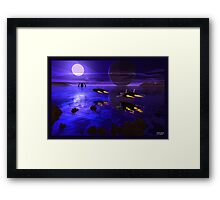 Sunset Sweep Framed Print