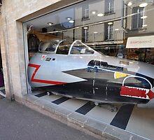 Jet Fighter Nose, Bayeux, France 2012 by muz2142