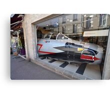 Jet Fighter Nose, Bayeux, France 2012 Canvas Print