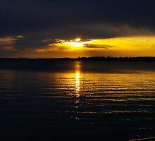 Clear Lake, Iowa Sunset by klziegler