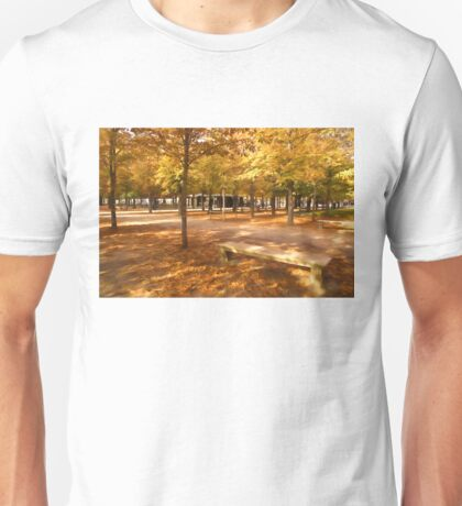 Impressions of Paris - Tuileries Garden, Come Sit a Spell Unisex T-Shirt