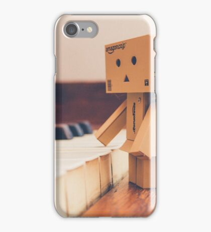Piano danbo iPhone Case/Skin