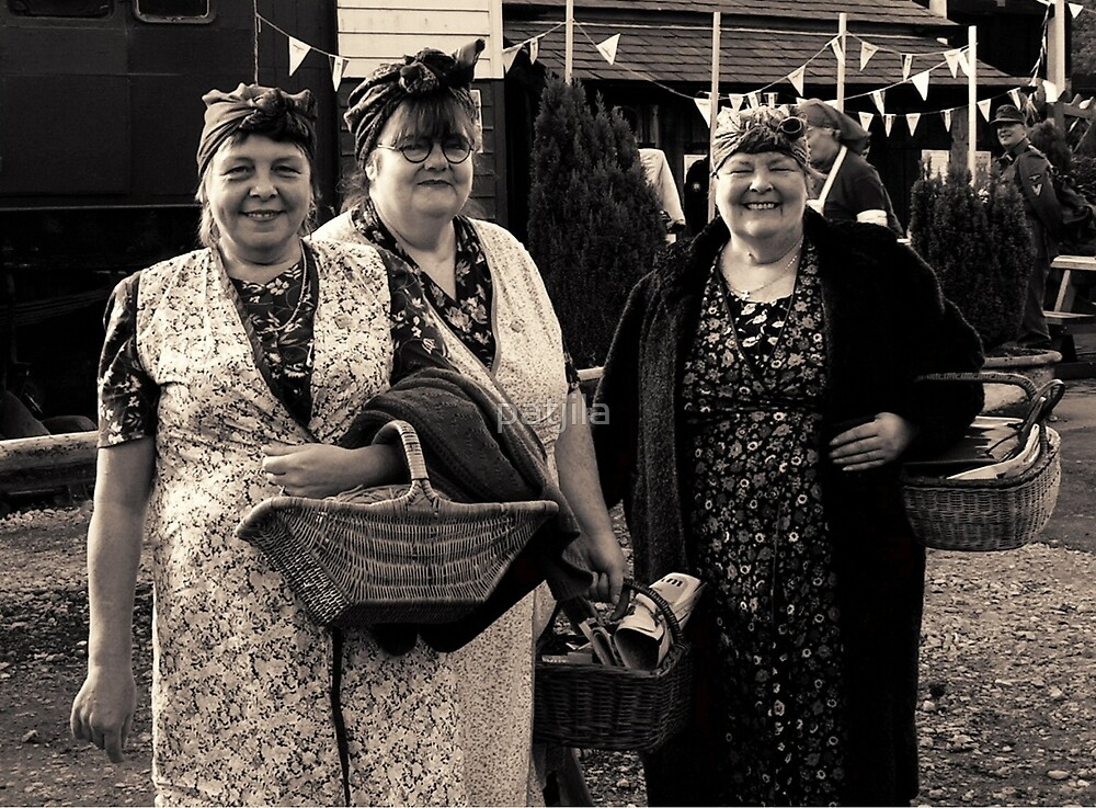 Rosies at War Weekend Pickering Yorkshire by patjila