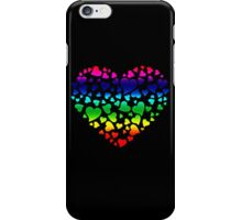 Colorful Hearts iPhone Case/Skin
