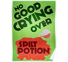 No Good Crying Over Spilt Potion Poster