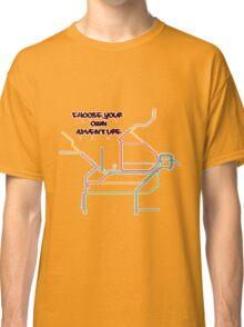 shitty-rail map Classic T-Shirt