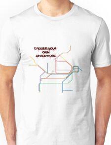 shitty-rail map Unisex T-Shirt