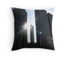 Toronto Reflections Throw Pillow