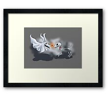 Nightmare Dogs Framed Print