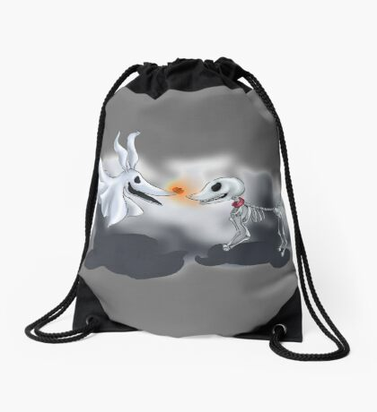 Nightmare Dogs Drawstring Bag