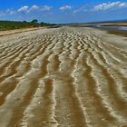 Sands of time - Gunn Point by Noeline R