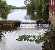 Millstone River and Mill by reindeer