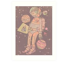 Space man. Art Print