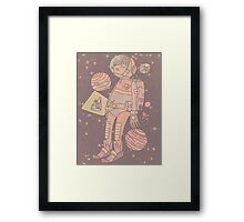 Space man. Framed Print