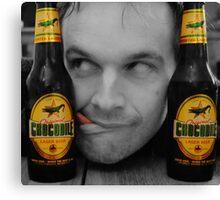Beer Monster..! Canvas Print