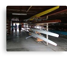 Manning River Rowing Club Canvas Print