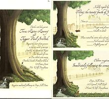 Tessa's Wedding Invitations by Laurie Freeman