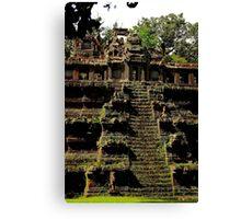 Phimeanakas Temple - Angkor, Cambodia. Canvas Print