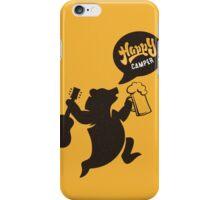 Happy Guitar Camper  iPhone Case/Skin