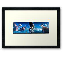 Dive in M8 Framed Print