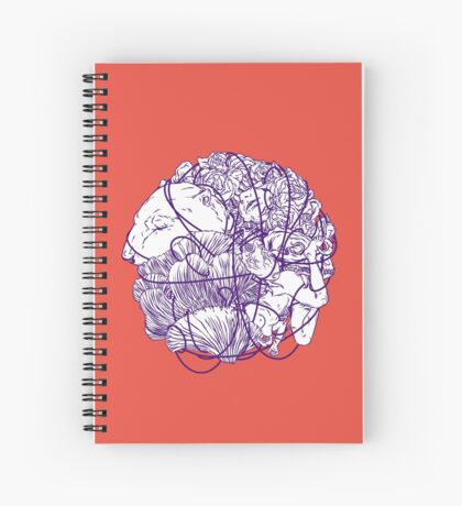 Stuff Spiral Notebook