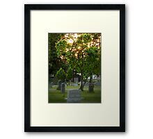 Waiting for You, My Love Framed Print