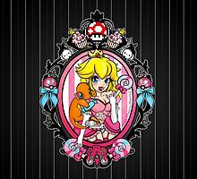 Princess Peach in Pink by Miss Cherry  Martini