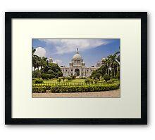 Victoria Memorial - Kolkata Framed Print