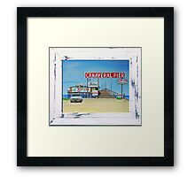 Canaveral Pier 1963-64 by MGilroy Framed Print