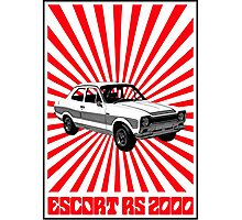 RS 2000 Ford Escort Classic Car  Photographic Print