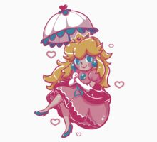 Sweet Peach One Piece - Short Sleeve