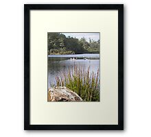 Kayaking on Lake Kara Framed Print