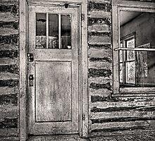Old Homestead Door by Kim Barton