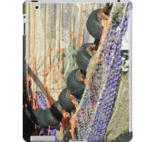At the harbour of Terschelling iPad Case/Skin