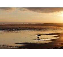 Sea Surf & Sunset Photographic Print