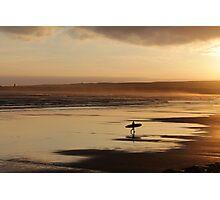 Sea Surf & Sunset Photographic Print