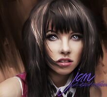 Carly Rae Jepsen Digital Paint by squire14