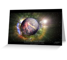 U.N.S.S. Timeship Greeting Card