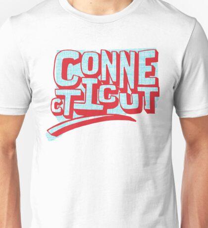 United Shapes of America - Connecticut Unisex T-Shirt