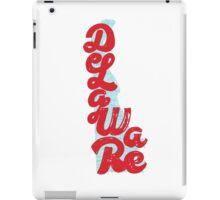 United Shapes of America -Delaware iPad Case/Skin