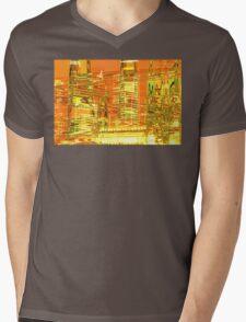 A waved skyscraper Mens V-Neck T-Shirt