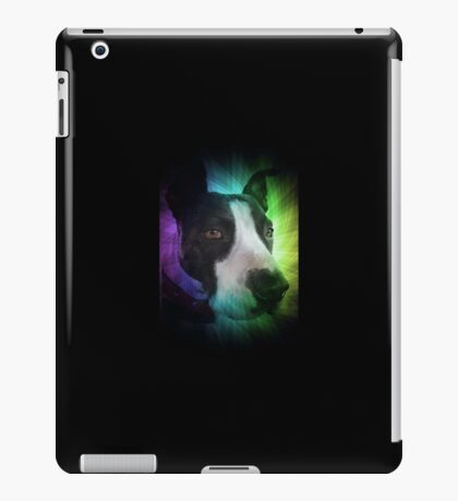 PEACEFUL PITBULL iPad Case/Skin